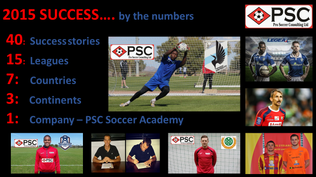 PSC Pro Soccer Combine Success 2015