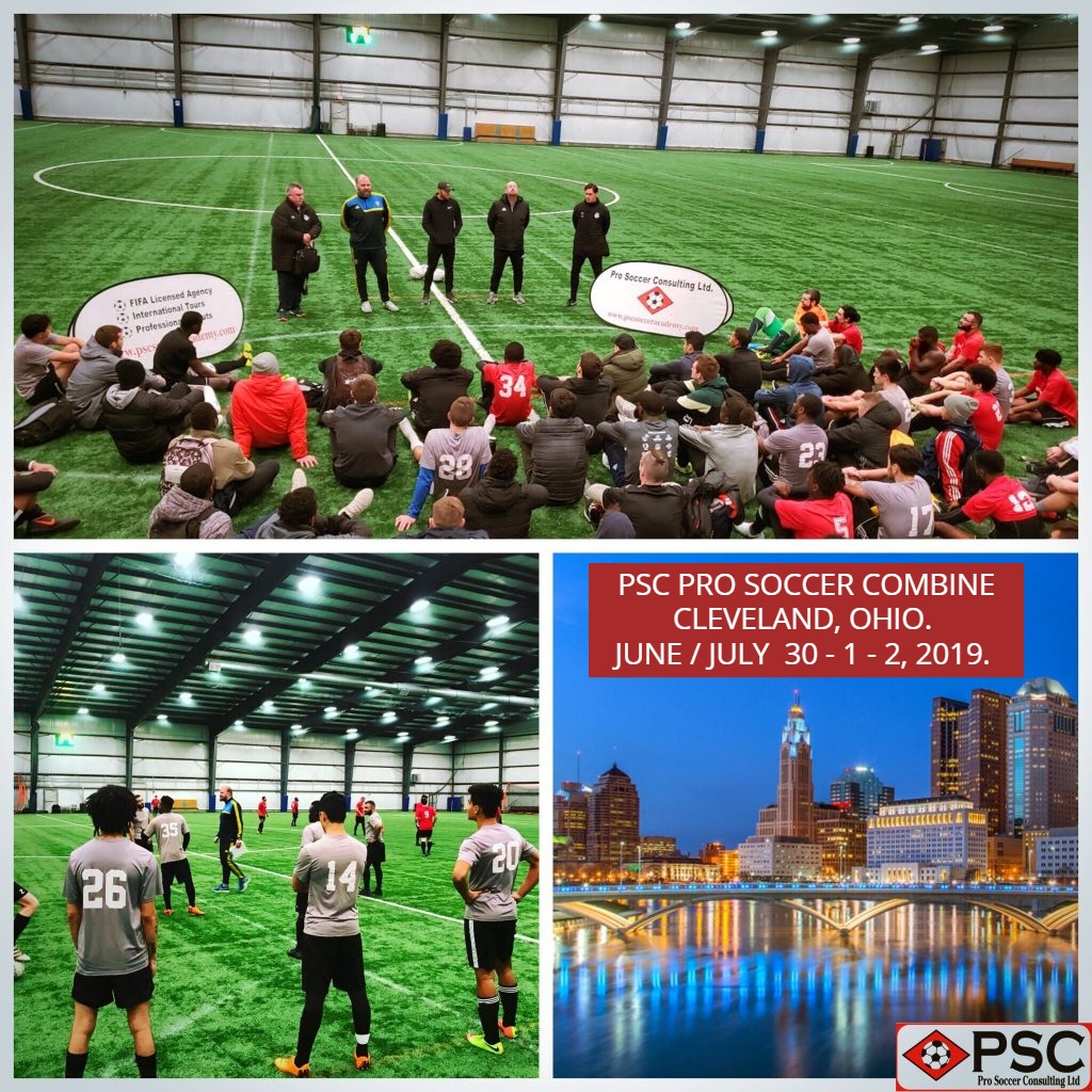 Ohio Pro Soccer Tryout Cleveland PSC