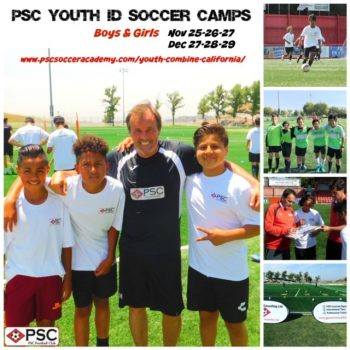 PSC Youth Soccer ID Camp