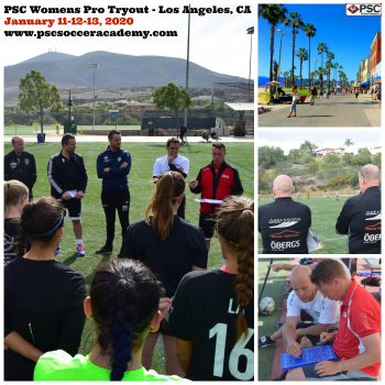 Womens Pro Soccer Tryout California
