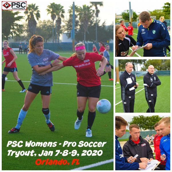 Womens Pro Soccer Tryout Florida