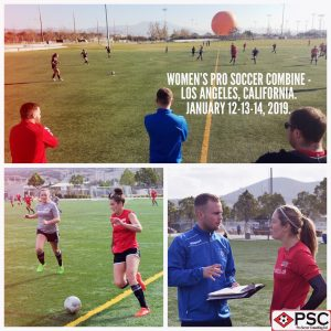Women's California pro soccer tryout PSC Soccer