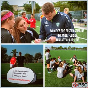 Womens Florida Pro Soccer Tryout Orlando PSC Soccer