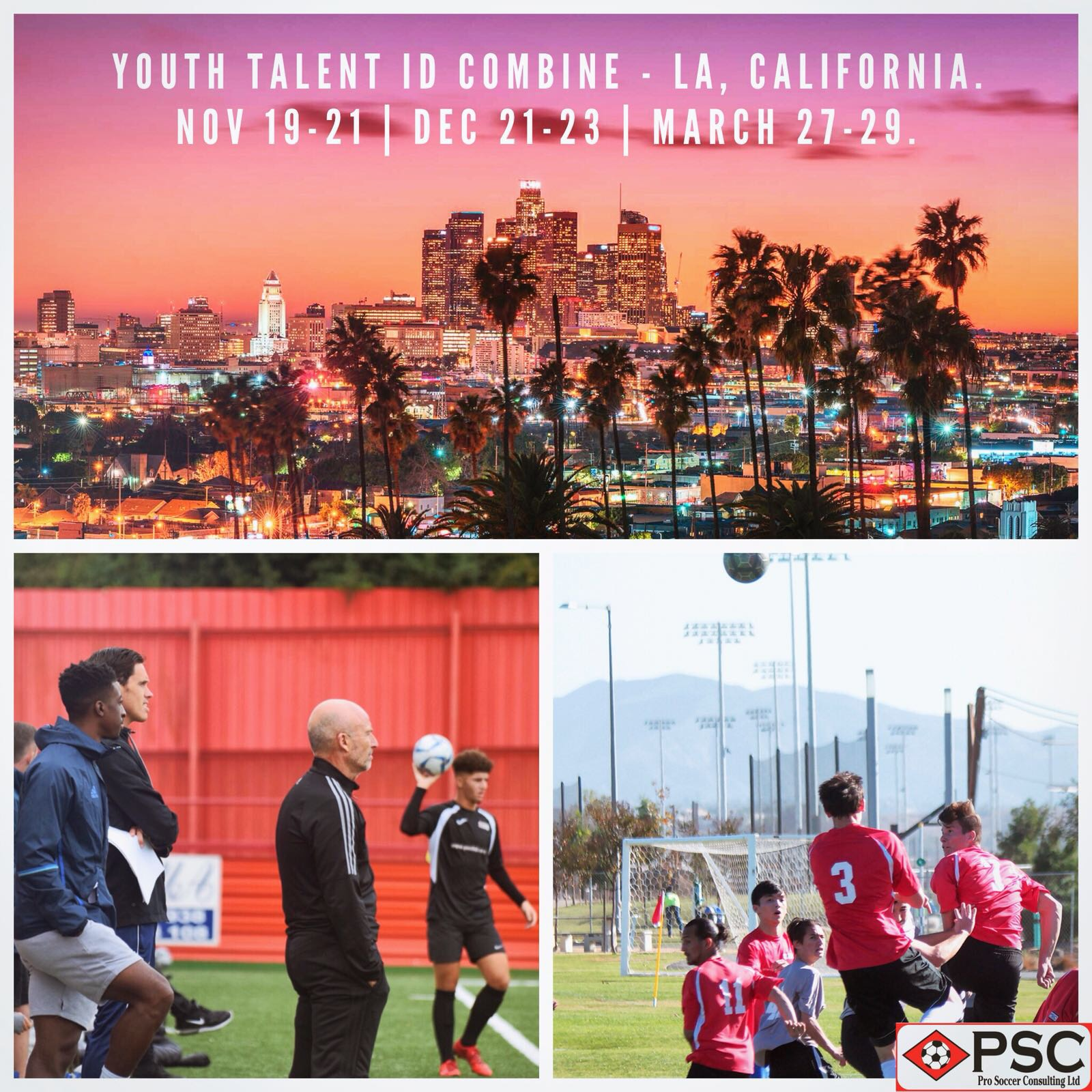 Youth Soccer Camp: Los Angeles, CA | PSC (Pro Soccer Consulting) Academy