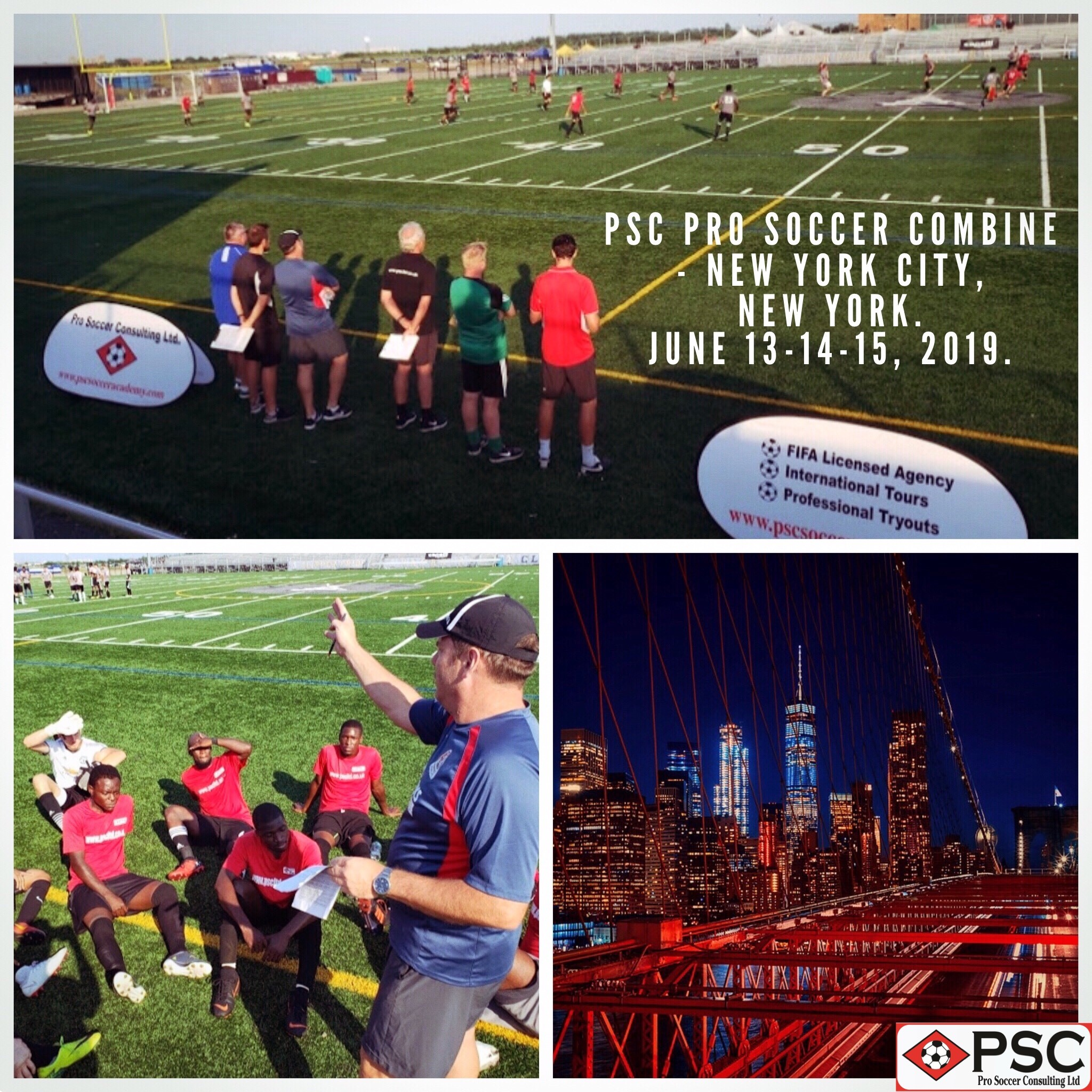 New York Pro Soccer Tryout PSC June