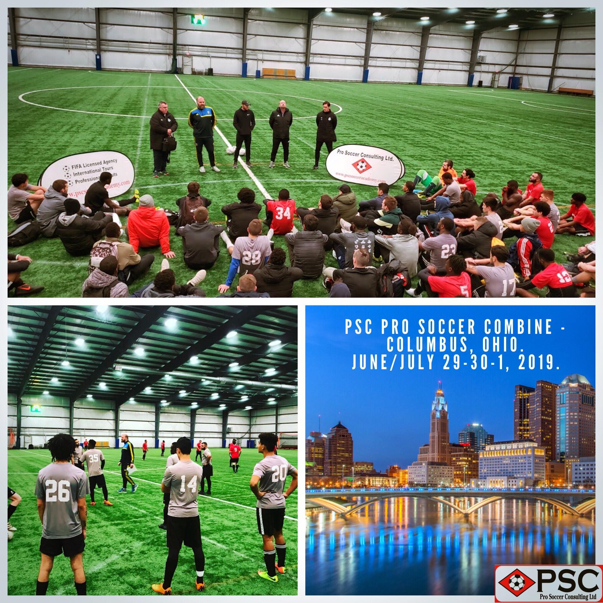 Ohio Pro Soccer Tryout PSC Columbus