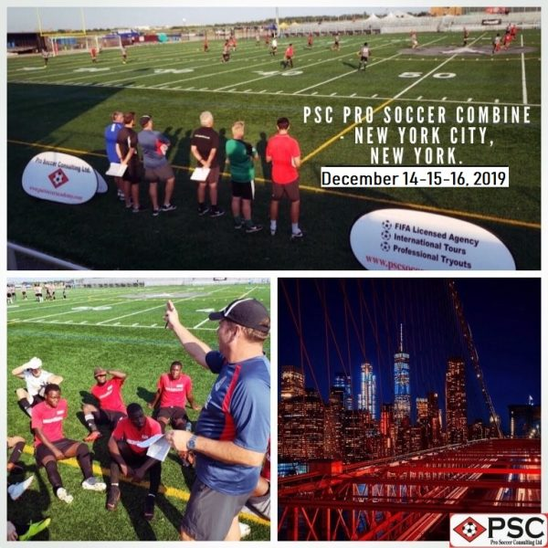 New York Pro Socer Tryout December 2019 PSC