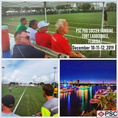 Fort Lauderdale Pro Soccer Tryout December