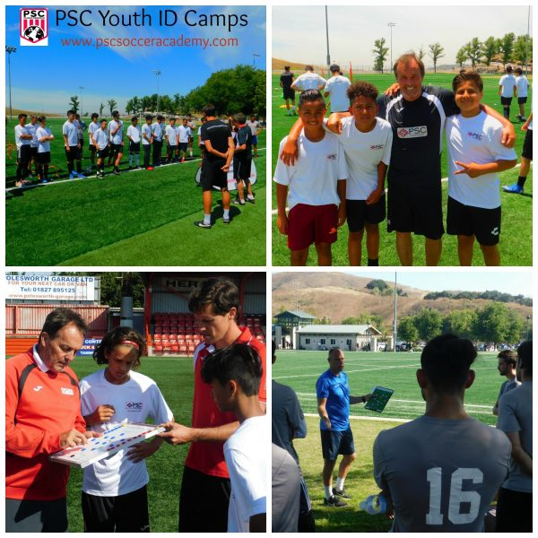 Professional Youth Soccer ID Camp