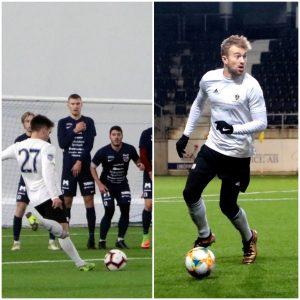 European Soccer Trials Joseph Harris & Nacho Cancela