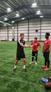 Ohio Pro Soccer Tryout Defender Trials in Iceland (JP Pic)