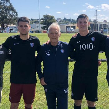 Partick Kibler Chase Webert Sign in Australia 2