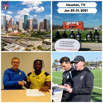 Pro Soccer Tryout Houston