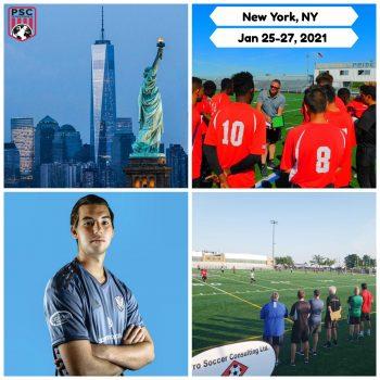 Pro Soccer Tryout New York Jan