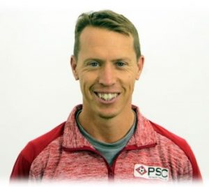 Womens pro soccer tryout Florida attending Scout Simon Deeley - Copy
